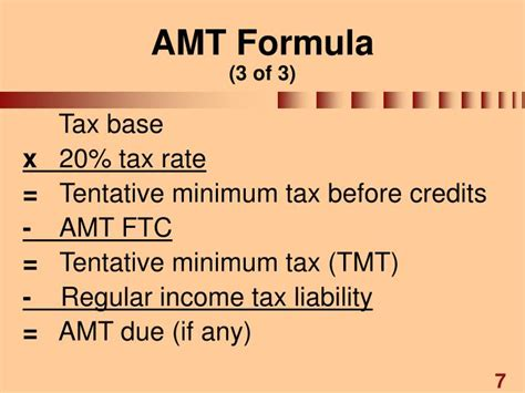 Tax Credit Formula Ppt Chapter 5 Other Corporate Tax Levies Powerpoint Presentation Id 1199791