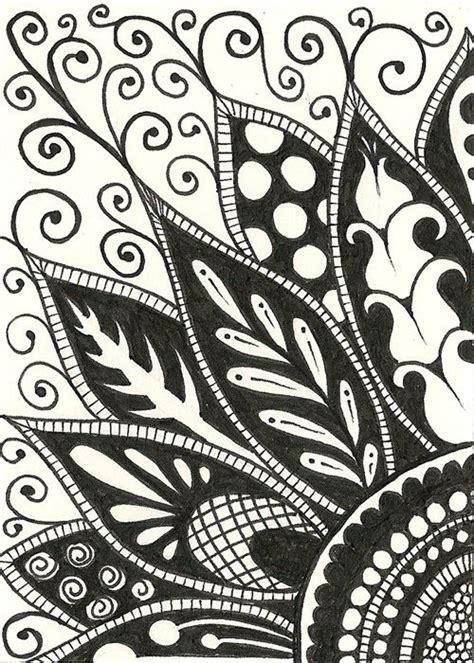 zendoodle coloring pages easy 120305 zendoodle 1 jpg 500 215 700 pixels drawings