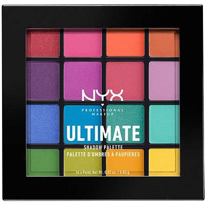 Nyx Brights brights ultimate shadow palette ulta