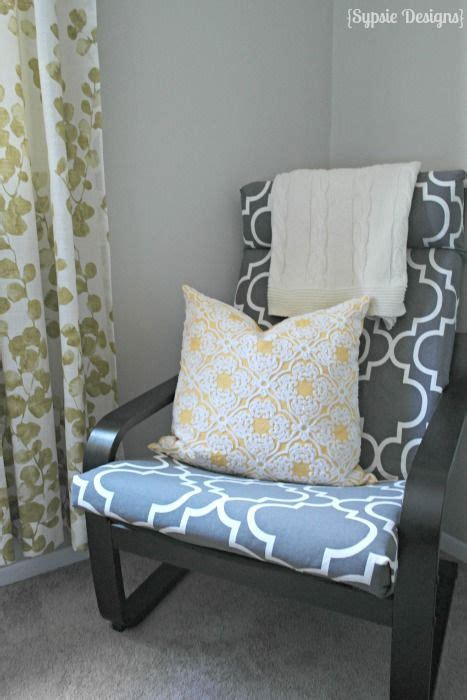 diy ikea poang chair cover happy colors the old and happy