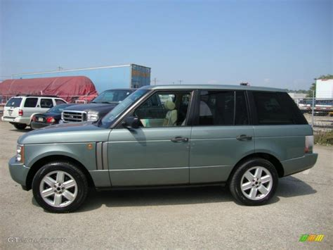 green range rover 2004 giverny green metallic land rover range rover hse