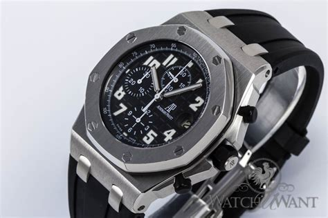 themes in black watch sold listing ap ap royal oak offshore chronograph