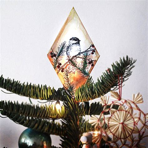 make your own christmas tree topper diy tree topper