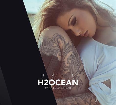 h2ocean tattoo 2018 h2ocean models calendar h2ocean