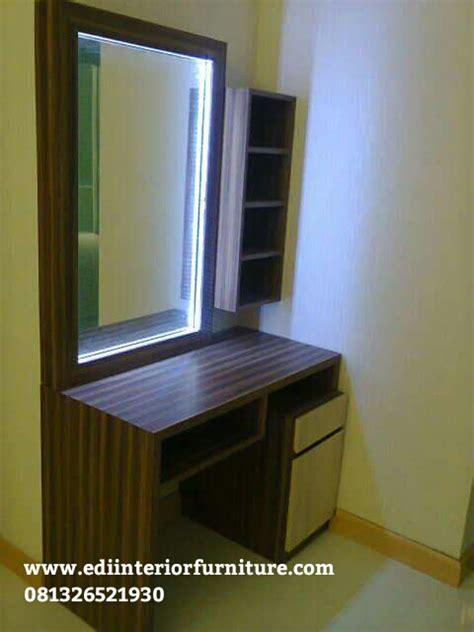 Tempat Tidur Minimalis Hpl meja rias minimalis hpl edi interior furniture edi