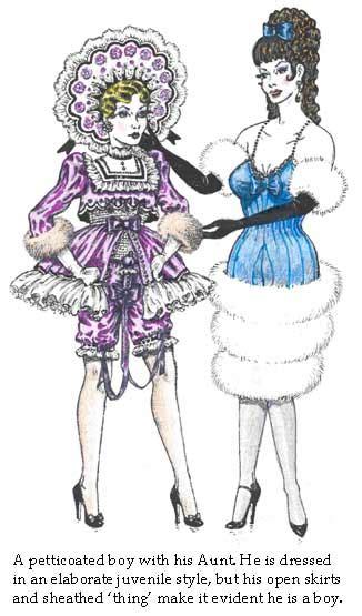 forced feminization art cross petticoat punishment art by bj x pinterest