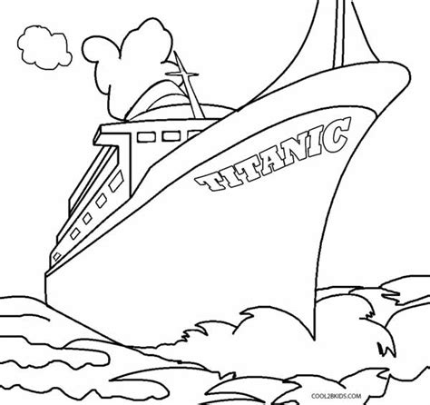 titanic underwater coloring pages printable titanic coloring pages for kids cool2bkids