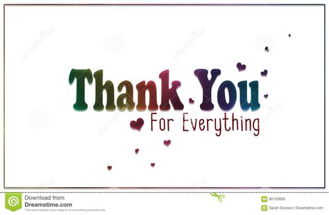 printable thank you for everything cards simple rainbow thank you for everything card stock
