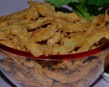 resep masakan jamur krispi pedas