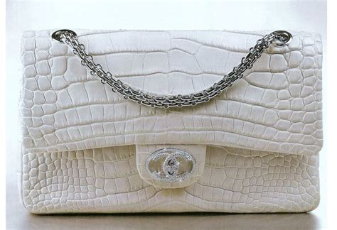 Chanels Crocodile Tote Is Ridiculously Expensive by Top 12 Most Expensive Handbags In The World