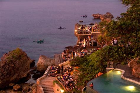cliff top bar bali rock bar ayana resort and spa bali in photos the