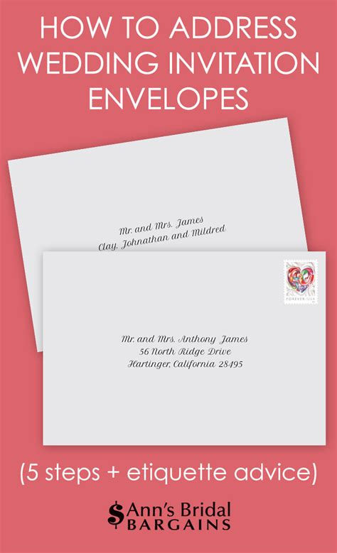 Wedding Invitation Card Addressing by How To Address Wedding Invitation Envelopes S Bridal