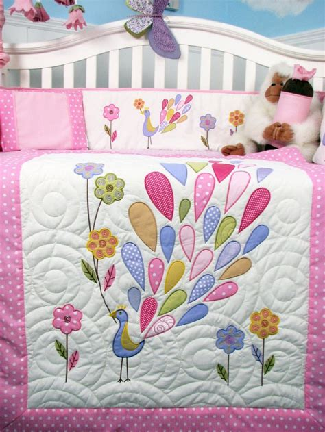 peacock crib bedding 16 best images about peacock child bedding on pinterest
