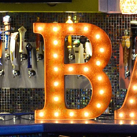 Lighted Marquee Letters by 24 Inch Letter B Marquee Light By Vintage Marquee Lights