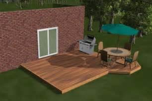 Do It Yourself Deck Designer Large Diy Deck Plans