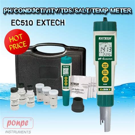 Ph Tds Temp Meter Waterproof ph meter เคร องว ด ph eutech extech ราคาถ ก