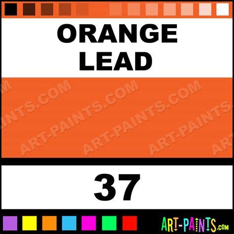 orange lead soft pastel paints 37 orange lead paint orange lead color sennelier soft paint