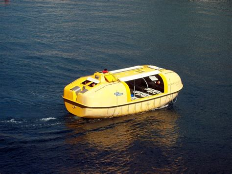boat life free photo life boat survival unit yellow free image