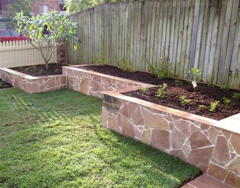 garden bed retaining wall retaining wall request from qld garden home