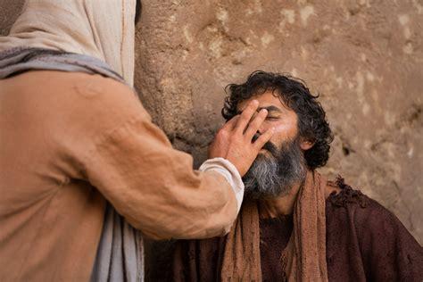 Said The Blind heals a blind