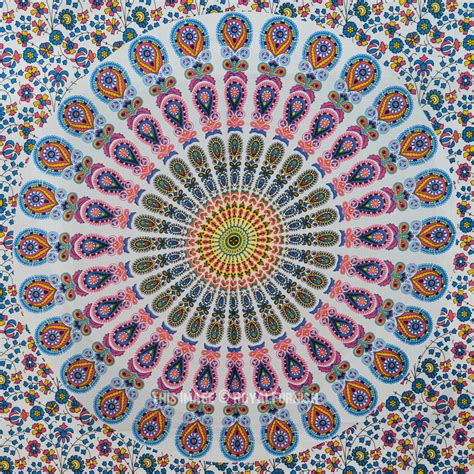 colorful tapestry multi cool colorful medallion poster size tapestry