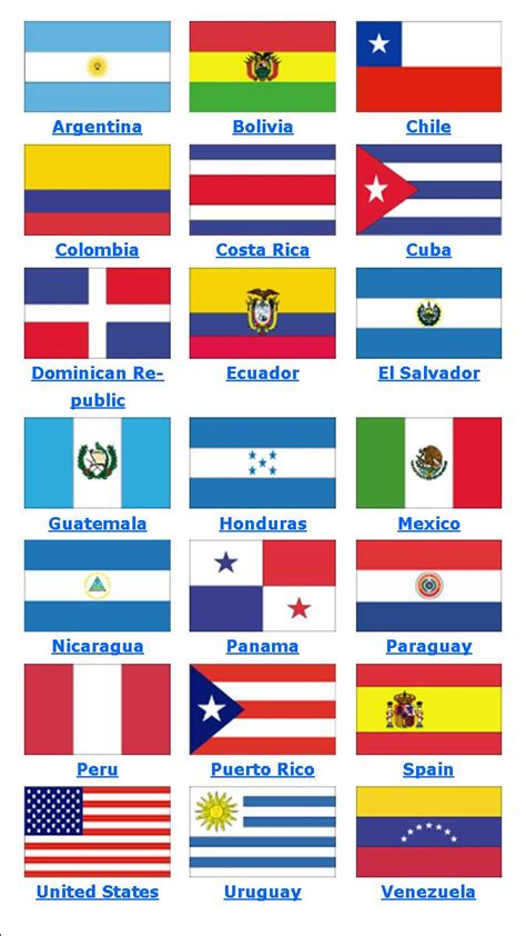free hispanic countries coloring pages