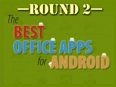 best office android best office apps for android 2 computerworld