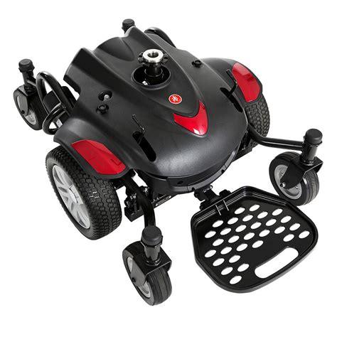 portable power wheelchair r drive titan axs mid wheel drive powerchair portable