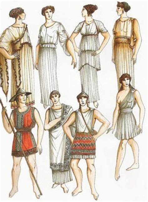 ancient greek costume history pictures showing how to recreate a ancient greece clothing chiton google search 1