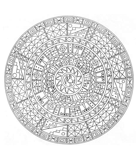 challenging mandala coloring pages to print this free coloring page 171 coloring mandala