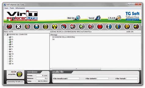 exploration lite full version for windows virit explorer lite shareware version 8 1 79 by tg soft