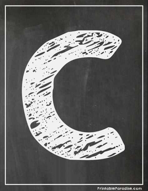 printable chalkboard letters printable letter c chalkboard writing print chalky letter c