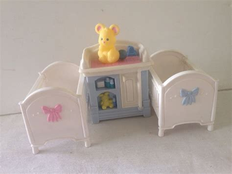Fisher Price Baby Furniture by Fisher Price Loving Family Grand Town Time Dollhouse