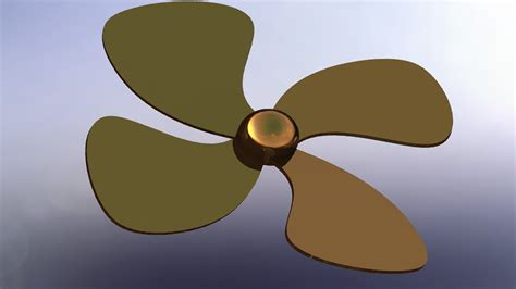 solidworks p tutorial 80 propeller drawing simple - How To Draw A Boat Propeller In Solidworks