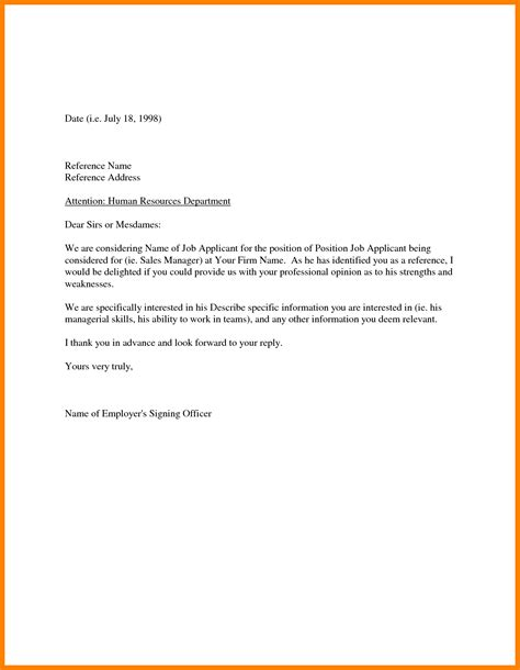 Recommendation Letter For Probationary Employee Employee Reference Letter Gallery Letter Format Exles