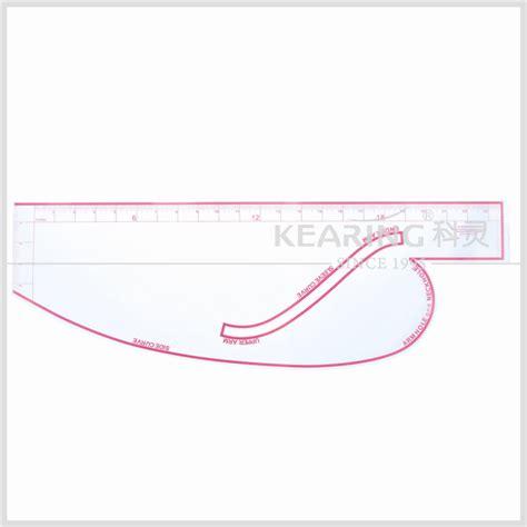 kearing 6505 armhole curve ruler pattern making rulers kearing brand 6360 hip curve ruler metric fashion design