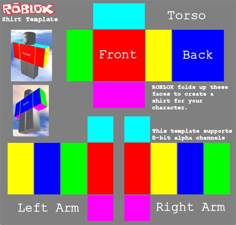 roblox shirt template maker image gallery roblox template