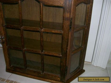 oak curio cabinets for sale antique vintage all wood oak large curio wall display