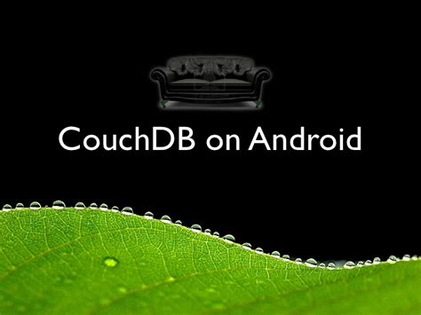 couch b couchdb on android