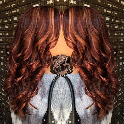 best 25 auburn hair with highlights ideas on