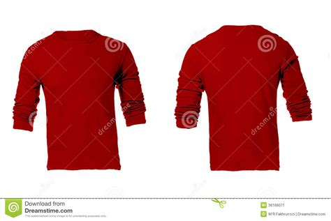 Kaos Personil Maroon 5 s blank sleeved shirt template stock image