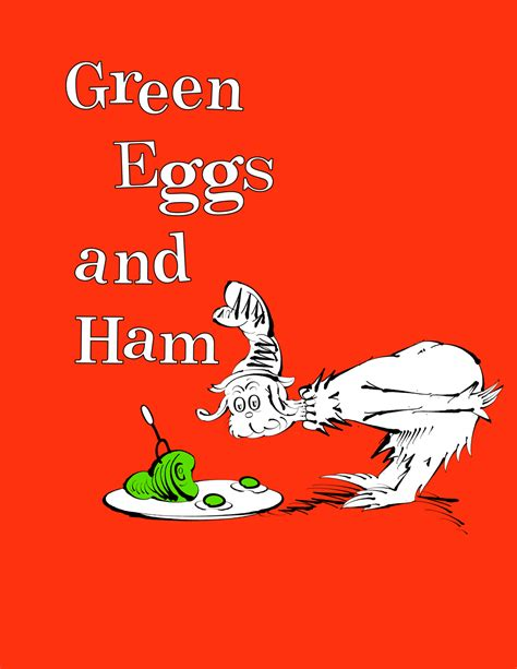 green eggs and ham book cover www imgkid the image