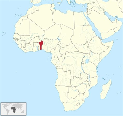In Africa by File Benin In Africa Svg Wikimedia Commons