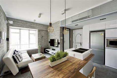 casa de interiores interior de una casa moderna en gris