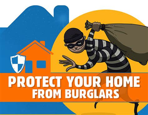 useful tips to secure home or property against burglars