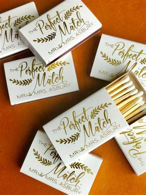 wedding matchboxes wedding matches monogrammed