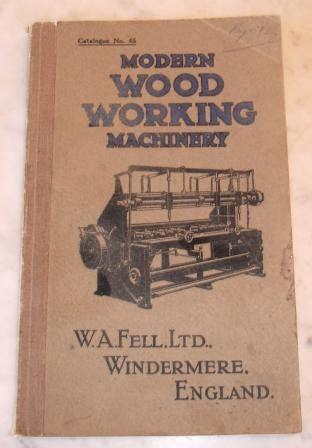 fiction modern woodworking machinery catologue