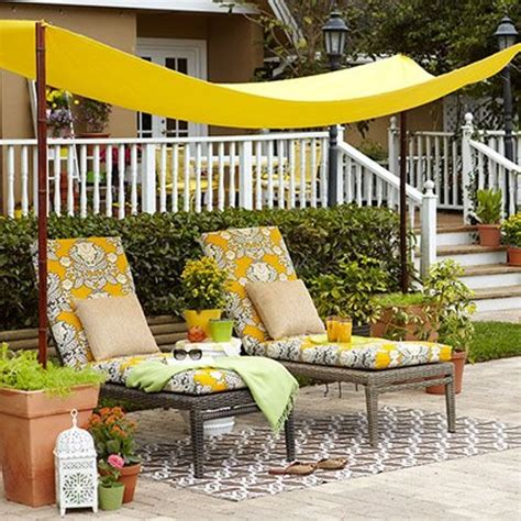 Diy Backyard Shade by Diy Garden Canopy