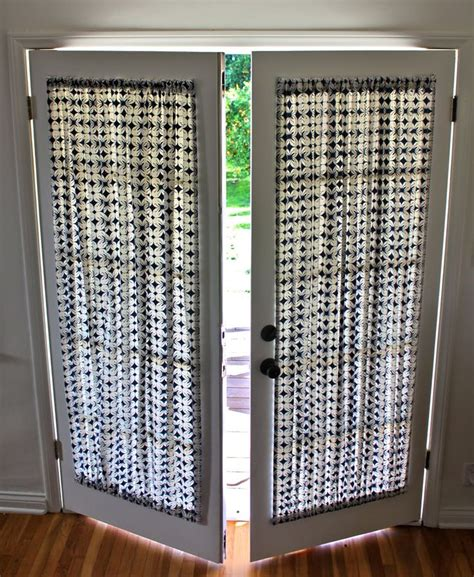 how to hang curtains on french doors 25 best ideas about door curtains on pinterest door