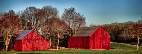 Barn In The Usa Barn In Maryland Usa Hdr Creme